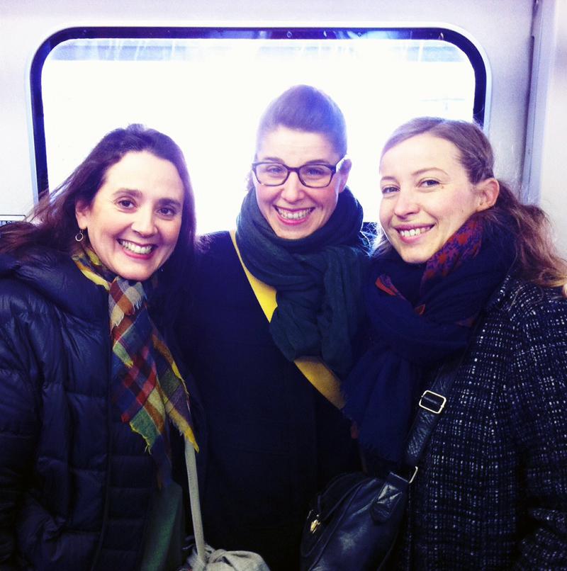 Celia, Justine & Candice en voyage pour Bonton