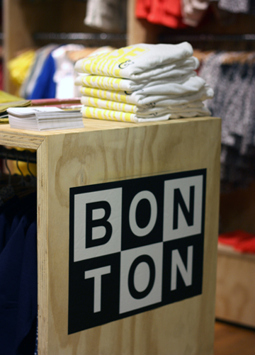Bonton aux Galeries Lafayette Haussmann