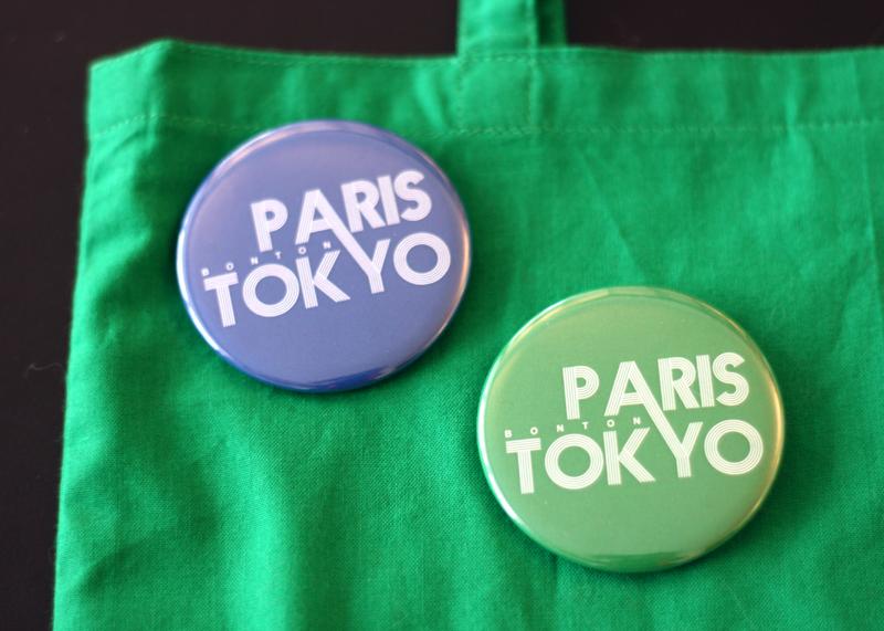 Sac & badges Paris-Tokyo