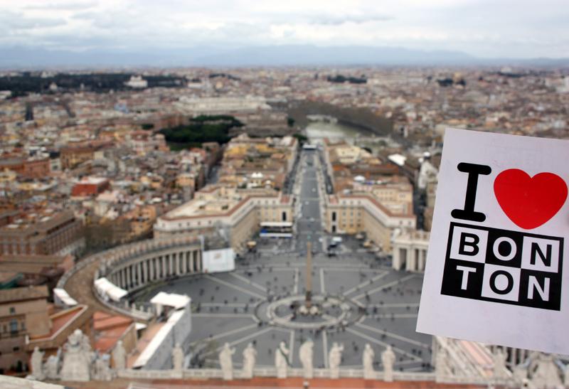 Bonton à Rome