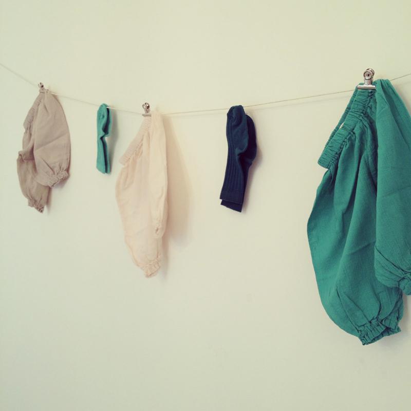 Instagram Bonton - Chaussettes naissance et sarouel Perla