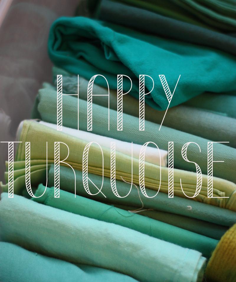 Happy Turquoise - Concours couleur Bonton