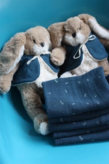 La rentrée chez Bonton - Le lapin Arsène & les doudous feuille
