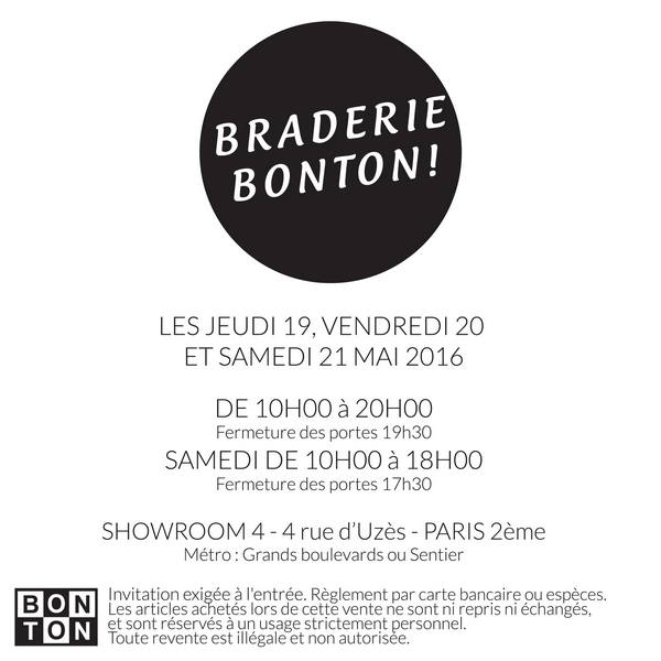 MAILING WEB BRADERIE 2016